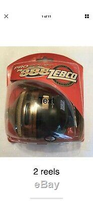 11 ZEBCO Fishing Reels NOS 8model 888 3 HAWG Seekers Reserved For Anthonromer 29