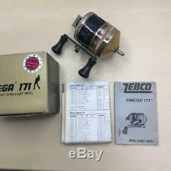1425 ZEBCO baitreel OMEGA 171 Ultra-Light spin-cast Unused excellent item