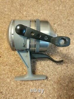 1991 Vintage ZEBCO 44 CLASSIC Trigger Spin Fishing Reel, USA NOS