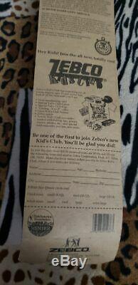 1996 Mickey Mouse kids Fishing Rod & Reel Combo Zebco Brunswick Disney Pole RARE