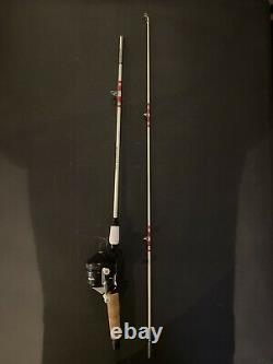 23 Vintage Zebco Model 202 Fishing Reel / 2 Piece True Temper 494RE 5 Rod Combo