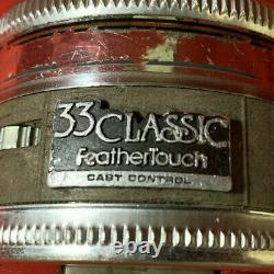 33 Classic Feathertouch fishing reel
