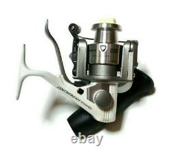 55 Zebco Quantum spinning reel Hypercast HC2 3ball bearing Few times use only