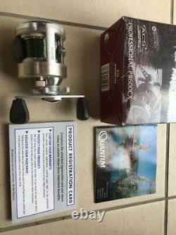 76 Zebco baitreel Quantum PR600CX used for Bass fishing Good condition R-handle