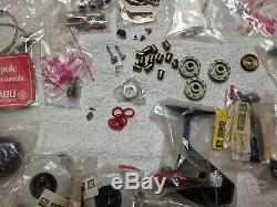 ABU & ZEBCO CARDINAL 3 and mostly 4 REEL PARTS Lot NEW NOS great tuff parts