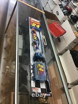 Brand New RARE 2003 ZEBCO NASCAR 24 JEFF GORDON FISHING REEL Nascar Set