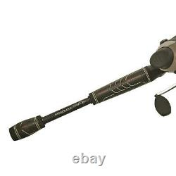 Durable Bullet Spincasting Rod And Reel Fishing Combo Durable 7' Medium Heavy