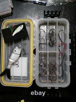 Fishing Reels, Bait & Hooks Bundle