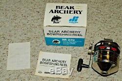Fred Bear Archery Bowfishing SR 270 fishing reel NIB