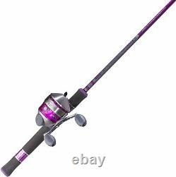 Girls Ladies Starter Rod And Reel Combo Fishing Spinning Casting