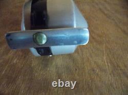 (HTF) ZEBCO Zero Hour Bomb Co. Reel 40's (BLACK SPIN CAP) Clean 2/21