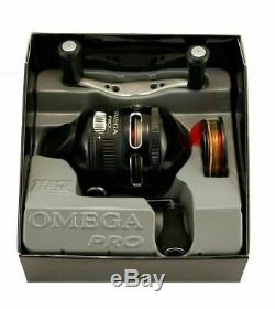 (LOT OF 2) ZEBCO OMEGA Pro 3 Z03PRO 3.41 Gear Ratio 7 Bearing Spincast Reel