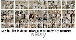 Lot Antique Reel Parts Zebco Cardinal Daiwa Olympic Dam Quick More