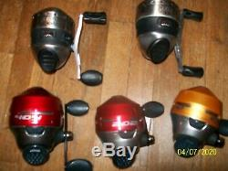 Lot of 13 assorted Zebco reels used #2