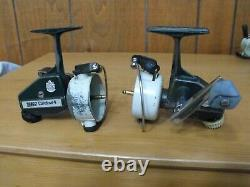 Lot of 2 Zebco Cardinal 4 spinning reels without spools