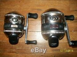 Lot of 21 used zebco reels many look barely used