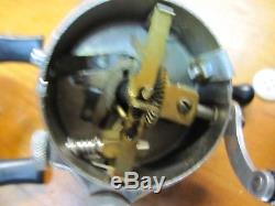 Lot of 3 Rare Collector Zebco 33 Spinner Reels, Boxes, 2 Tulsa Ok, Brass Gears USA