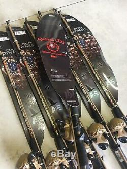 Lot of 6 Zebco Duck Dynasty Spincast Rod Reel Combos (Dealer Case) Push Button