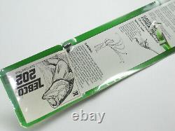 NEW! Vintage 70's Zebco 202 Reel/30 Rod Combo Model 1720 VERY RARE! Pre-UPC