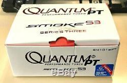 NEW! Zebco Quantum PT SM101SPT Smoke S3 Baitcasting Left-Hand Reel 6.11 (NIB)