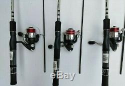 New Zebco 33sp Authentic Spinning Z-GLASS Rod Medium 6' REEL Combo