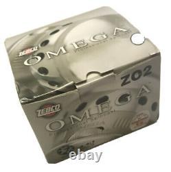 Omega 2sz Sc Reel 7 Ball-bearings 6bb+1, Spare Spool Zebco / Quantum ZO2 H1 New