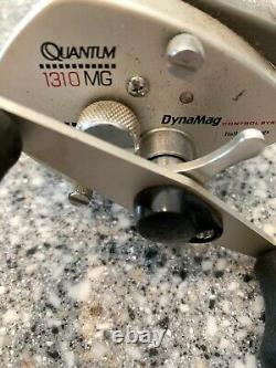 Quantum 1310 MG Dyna Mag Zebco Fishing Reel Shed Find Pre Owned