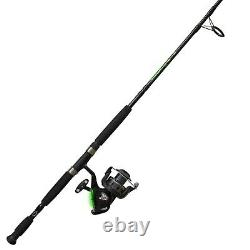 Quantum Fishing Zebco Bite Alert Spinning Reel and 2-Piece Fishing Rod Combo