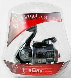 Quantum Optix Op20fc 5.21 3 Bearing Spinning Reel Clam Pack 21-22894