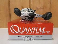 Quantum PT Monster MO300HPT Baitcasting Reel 7.11 Right Hand New
