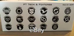 Quantum PT Smoke S3 Baitcast Reel 6.11, 10+1 Bearings Left Handed Zebco New