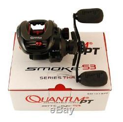 Quantum Reel Baitcast Smoke S3 PT Left Hand 6.11 SM101SPT