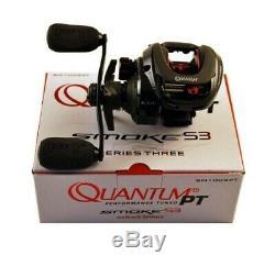 Quantum SM100SPT Smoke S3 PT Baitcasting Reel 6.11 Right Hand Retrieve