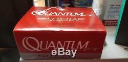 Quantum Smoke Heavy Duty Baitcast Reel 7.31, 7 Bearing, 12/180 yd, Right Hand
