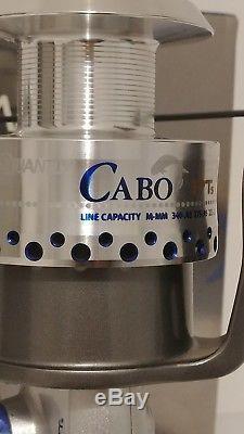 Quantum Zebco Cabo Bait Teaser Saltwater Ratio 4.91 Bearings 9 CST80PTSB NIB