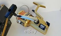 Rare Fishing Tackle Vtg Zebco 6070 Skirted Spinning Reel Original Box Paperwork