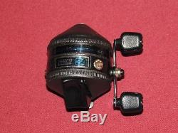 Rare Vintage Zebco Model 34 Spincasting Reel, Works Perfectly & In Great Cond