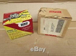 Vintage 1960's ZEBCO Fishing Spinning Reel Model 33 SILVER with original box