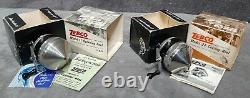 Vintage 1965-1968 Zebco 11 & Zebco 22 New in Box Made in USA Matching Set