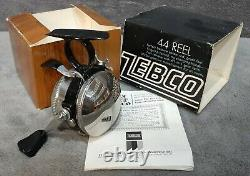 Vintage 1971 New n Box Zebco 44 Spin-Cast Reel Original Box & Manual Made in USA