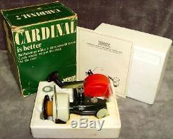 Vintage 1973 Zebco Cardinal 7 Spinning Reel New in Original Box Made in Sweden