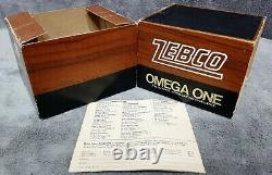 Vintage 1976 Zebco Omega One New in Box Includes Paper Manual Made in USA