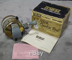 Vintage 1988 New in Box Zebco CGC One Classic Crankin' Reel USA Made Super Rare
