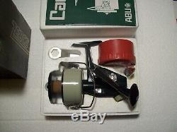 Vintage Abu Garcia Zebco 7 Cardinal Spinning Fishing Reel New In Box & Papers