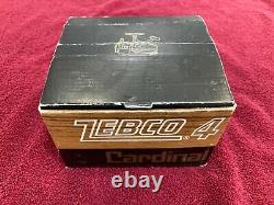 Vintage Cardinal Zebco 4 New, Unfished, Mint in BOX
