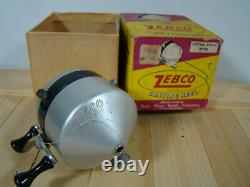 Vintage Early Zebco Casting reel in Original box
