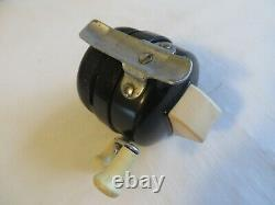 Vintage Fishing Reel RARE Made by Zebco for Old Pal Metal Foot Works