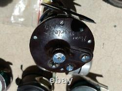 Vintage Fishing Zebco 44 Peel Reel 9 Garcia Michelle 306 Cork Fly Handle