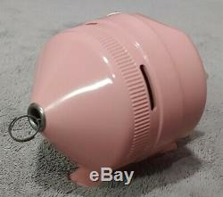 Vintage New in Box Zebco Pink 202 Reel Extremely Rare Condition Made n USA