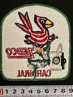 Vintage Patches Zebco Cardinal